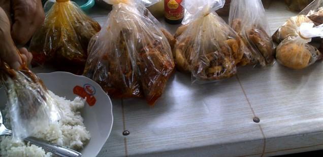 Makanan kantin Bandara Soekarno-Hatta