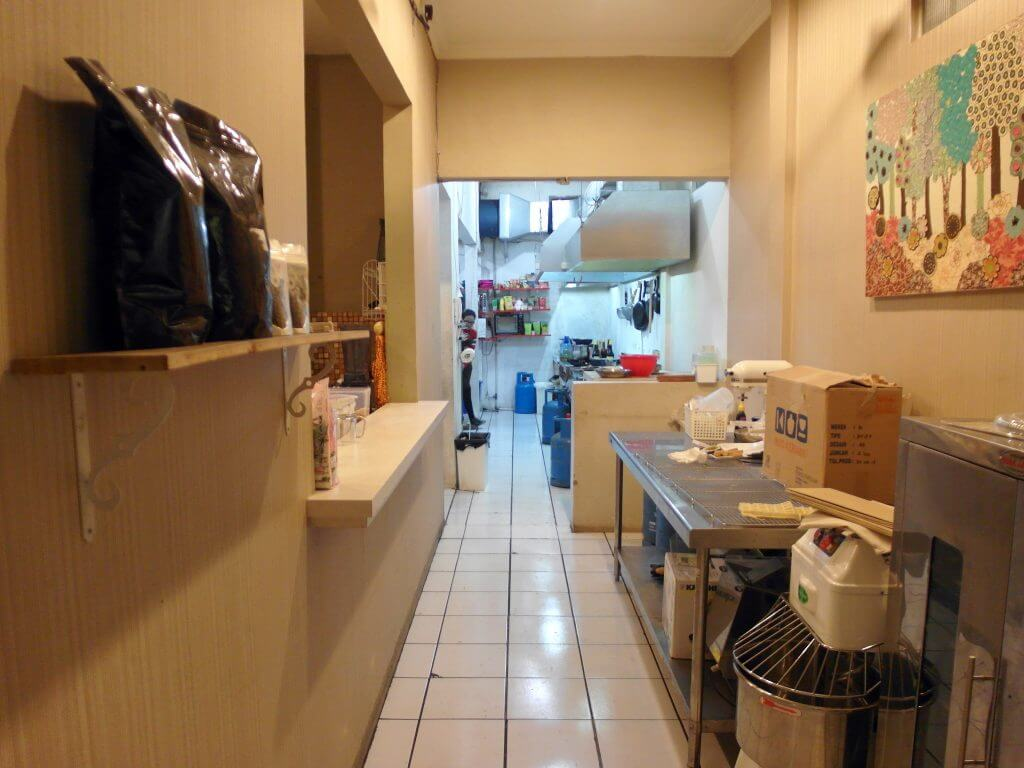 Lorong dapur (Coffe n' Friends)