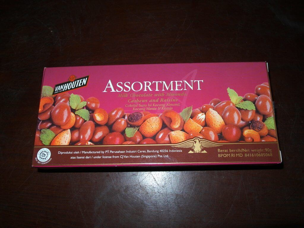 Van Houten Assortment Chocolate - kemasan